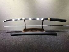 Handmade Japanese HRC65 T10 Clay Tempered Blade Sword Samurai Katana Full Tang