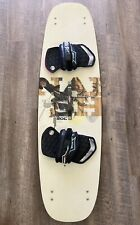Naish SOL 131 All-Terrain Kiteboard Complete W/ Footbeds, Straps, & Handle