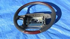 97-00 Volvo C70 S70 V70R Grey Leather With Red Wood Grain Steering Wheel Rare!!!