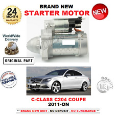 FOR MERCEDES BENZ C CLASS C204 COUPE STARTER MOTOR 2011-ON C220 CDi C250 CDi