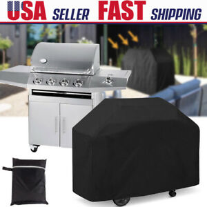 """58"""" Waterproof Heavy Duty BBQ Cover Garden Patio Gas Barbecue Grill Protection"""
