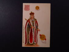 PC UK GB Raphael Tuck Kings & Queens of England Henry VII Hibernie Henricus
