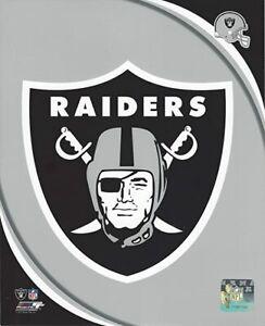 "Oakland Raiders NFL Team Logo Composite Photo (8"" x 10"")"