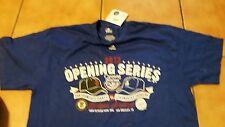 LA Dodgers S.F. Giants 2013 Opening Series Shirt ~ Size Large NWT originally $24