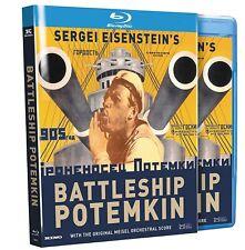 Sergei Eisenstein's BATTLESHIP POTEMKIN (1925) Region-Free Blu-ray *NEW*