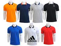 Adidas Mens Essential Short Sleeve Polo Shirt Top Sports T-Shirt Tee S - 2XL New