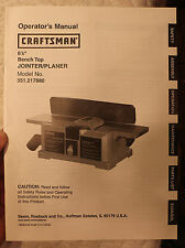 SEARS CRAFTSMAN 351.217880 USER OWNERS OPERATORS MANUAL