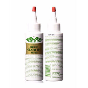 WILD GROWTH HAIR OIL 4 oz (2 Pack) HAIR AND NAILS