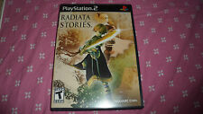 JEU RADIATA STORIES - playstation 2 PS2 - complet en boîte - USA - TBE