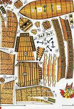 Ships Pinta Czech rare Paper Model