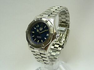 Tag Heuer WK2117 2000 Series Mens luxury Automatic watch pre-owned