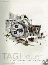 Publicité advertising 1997 La Montre Tag Heuer série 2000 Chronographe