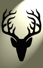 Shabby Chic Plastic Stencil Stag deer head Vintage A4 297x210mm wall Design 2