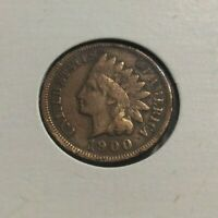 1900 Philadelphia Indian Head Penny Beautiful One Cent Coin Exact Coin Shown