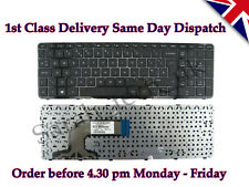 HP Pavilion 15 708168-031 9Z.N9HSQ.00U 719853-031 Laptop UK Keyboard With Frame