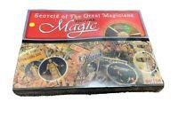 Secrets Of The Great Magicians Royal Magic Set Instructional DVD Tricks gm1035