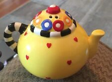Afternoon Tea Teapot Salt or Pepper Shaker Mary Engelbreit by Sakura Rare 1995