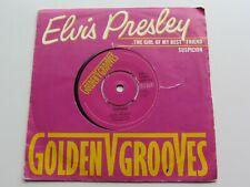 ELVIS PRESLEY GOLDEN GROOVES UK 45 THE GIRL OF MY BEST FRIEND