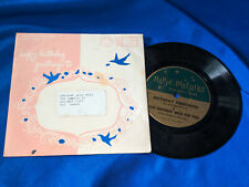 "The Gold Star Chorus 7"" 33 Birthday Greetings/It is Well with My Envelope PS"