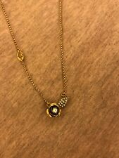 Juicy Couture Rose Wish Necklace