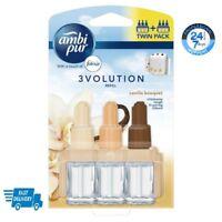 Ambi Pur 3Volution Plug In Air freshener Refill Twin Pack Vanilla Bouquet, 40 ml