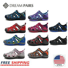 DREAM PAIRS Boys Girls Summer Sandals Breathable Athletic Outdoor Beach Sandals