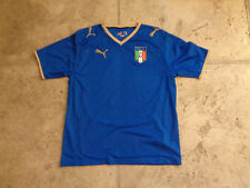 VINTAGE PUMA ITALY NATIONAL TEAM TOTTI #10 YOUTH/WOMEN'S XL SEWN JERSEY 2006 KIT