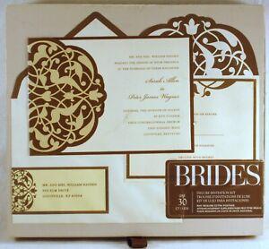 NEW GARTNER STUDIOS BRIDES Wedding Invitation Kit (30) COUNT PRINTABLE #89314