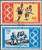 BRD (BR.Deutschland) 888-889 (kompl.Ausgabe) gestempelt 1976 Olympiade