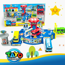 NEW 1 SET TAYO Parking Lot Toys With Two CAR Children's Christmas Birthday Gift