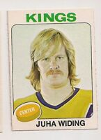 1975-76 OPC #142 JUHA WIDING LOS ANGELES KINGS O-PEE-CHEE