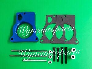 Blue Fits 96-05 Chevrolet GMC S10 S15 4.3L & Fullsize 4.3 Throttle Body Spacer