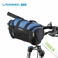 1pcs Roswheel Bicycle Handlebar Bag Multi-use MTB Road Bike Handlebar Roll Bag
