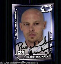 Radek Prochazka HC Kometa Brno 2010-11 TOP AK +A9047 + A 73566