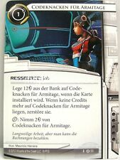 Android Netrunner LCG - 1x Code Cracking for Armitage #053 - Base Set German