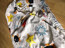 Nintendo 2013 Super Mario Twin Fitted Sheet White All Over Print