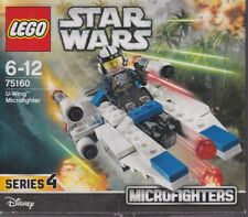 LEGO STAR WARS 75160 MICROFIGHTER SERIE 4 U -WING with pilot New Nib Sealed