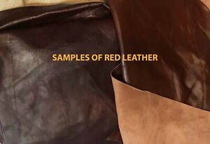 whole leather hide - full cowhide - approximately 36 SF.  Various Colors