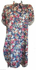 Unbranded Collar Floral Cotton Dresses for Women