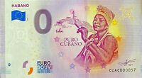BILLET 0 EURO HABANO  PUO CABANO CUB*   2019 PETIT NUMERO 57