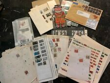 Large Great Britain England Year books Stamp Postcard Cover  Collection Lot MXE
