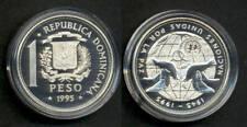 DOMINICANA UN 50 year anniversary. Silver proof coin.