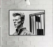 Helmut Newton 'David Bowie, Monte-Carlo, 1982' Vintage Photograph print. / Decor