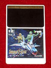 NEC PC ENGINE HUCARD juego imagen lucha NTSC-J Japón Importación
