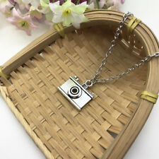 Camera, Photographer Necklace Holiday Necklace Travel Necklace