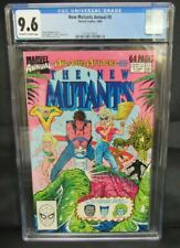New Mutants Annual #5 (1989) Rob Liefeld Cover CGC 9.6 Z332
