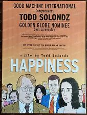HAPPINESS Todd Solondz OSCAR AD 1998 BEST SCREENPLAY Philip Seymour Hoffman GG