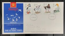 GB FDC 1989 Birds On A The Sunday Times Cover