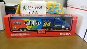 NIB 1993 JEFF GORDON #24 DUPONT NASCAR TRANSPORTER 1/43 RACING CHAMPIONS