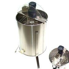 elektrische Honigschleuder 4 Rahmen Waben Honig Edelstahl VA Imker Schleuder
